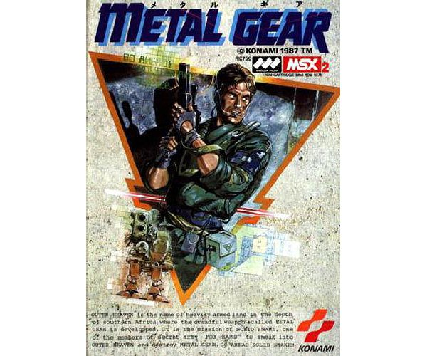 metal gear msx 2 cover