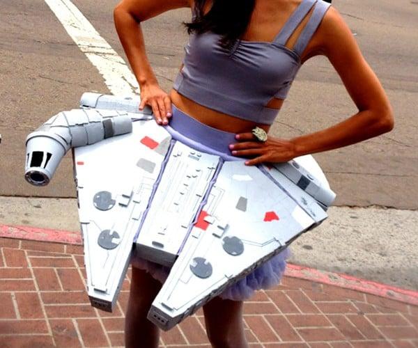 Millenium Falcon Skirt Smuggles Some Nice Cargo