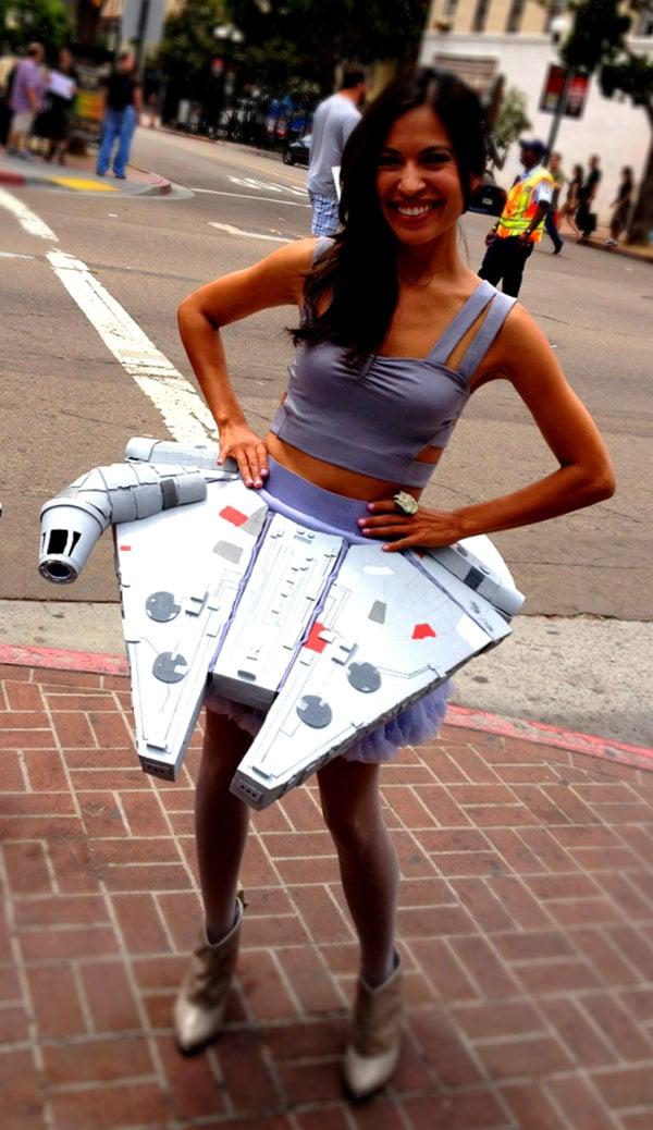 millennium falcon cosplay