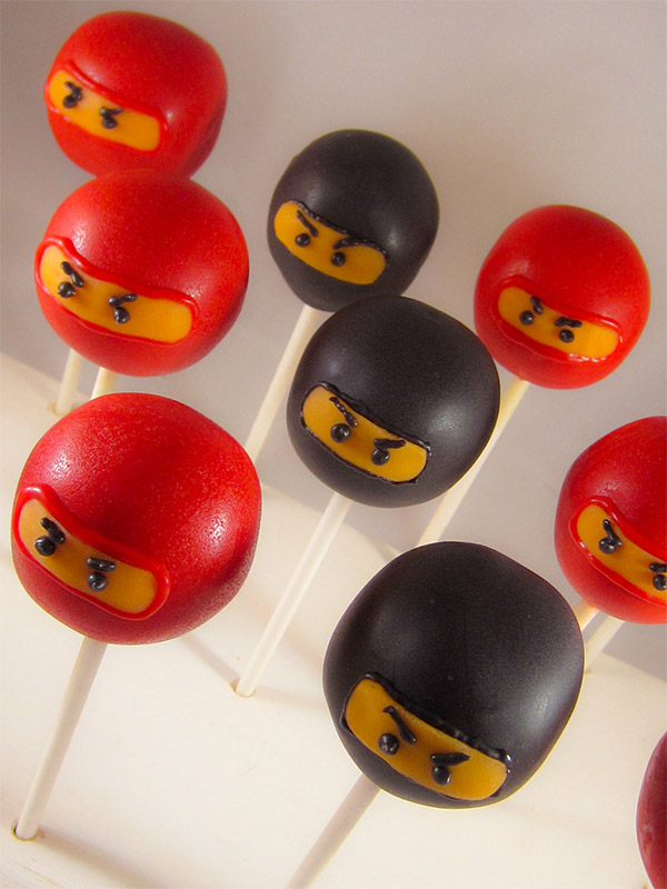 Ninja Cake Pops Are You Quick Enough To Pop Them In Your