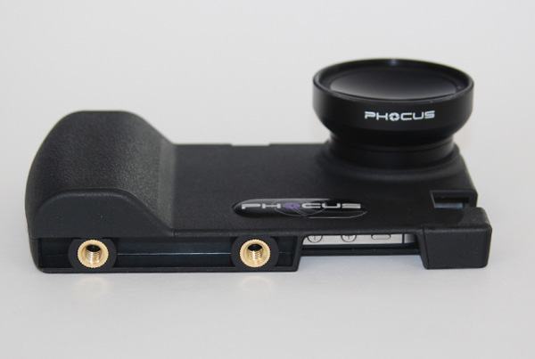 phocus iphone case dslr lens tripod