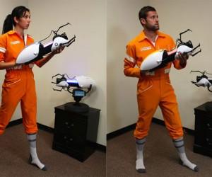 Portal 2 Jumpsuit Won't Look Stupid On You. Okay it Probably Will.