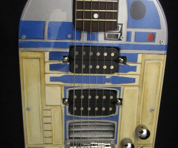 R2-D2 Guitar Perfect for Your Anakin and the Astromechs Band