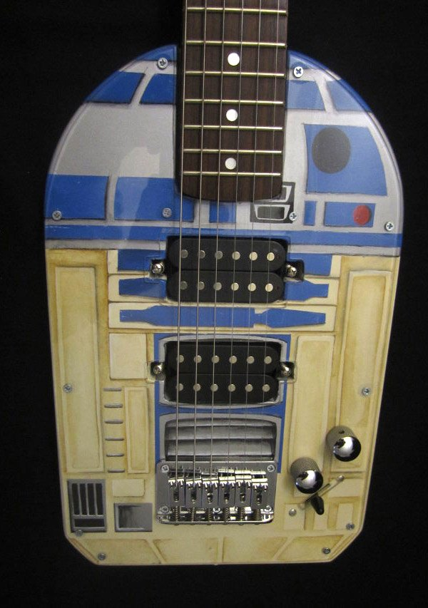 r2 d2 guitar