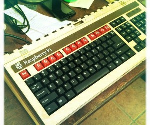 Ben Heck's Raspberry Pi Keyboard Computer: BBC Micro-inspired, DIY All the Way