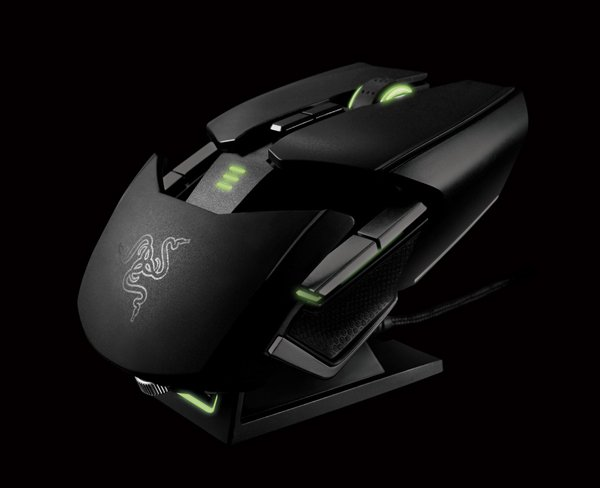 razer ouroboros gaming mouse ambidextrous customizable
