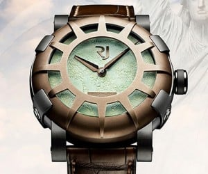 Liberty DNA: The Watch Made out of Bits from the Statue of Liberty