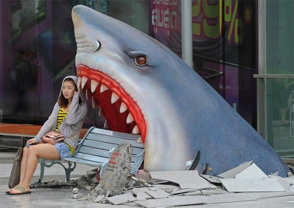 Jaws Bench is Like a Mini Sequel Starring You