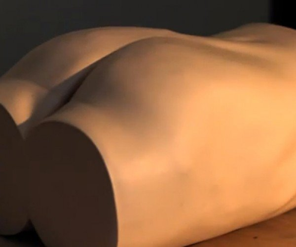 Touch-Sensitive Robot Butt: Ghost in the Shiri