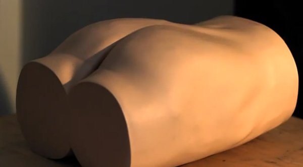 shiri touch sensitive robot buttocks by Nobuhiro Takahashi