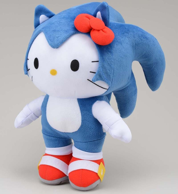 sonic hello kitty