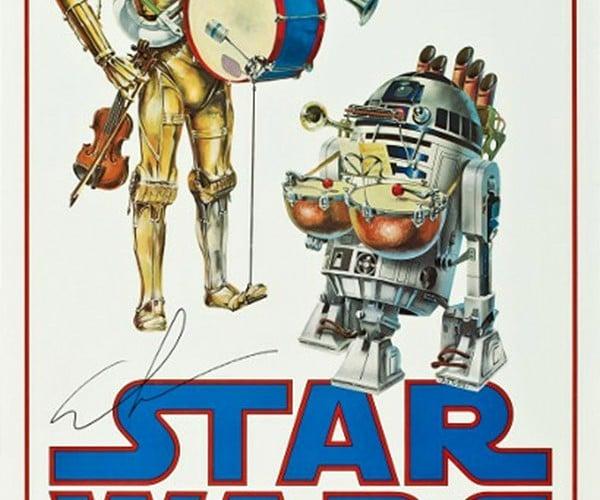 7ca9dc1ed14 Rare Star Wars Poster Looks Stupid