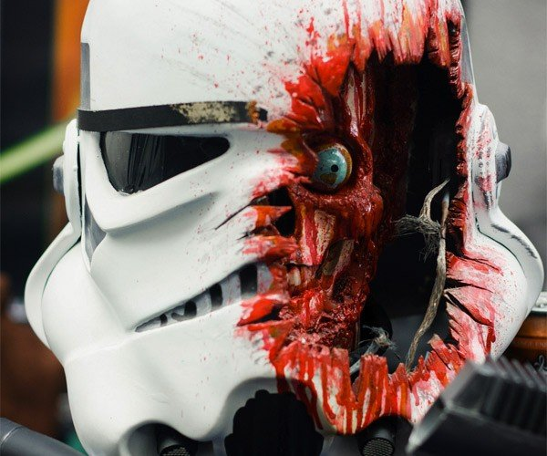 Stormtrooper Armor Clearly Not Very Effective Against Blaster Fire