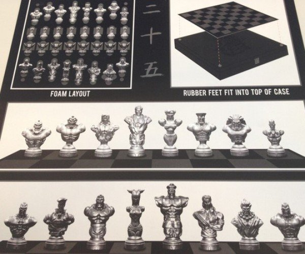 street fighter chess set 8