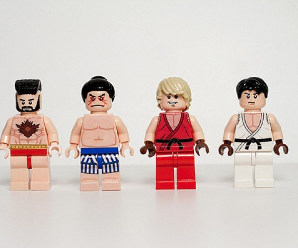 street fighter ii lego minifigure by julian fong 2