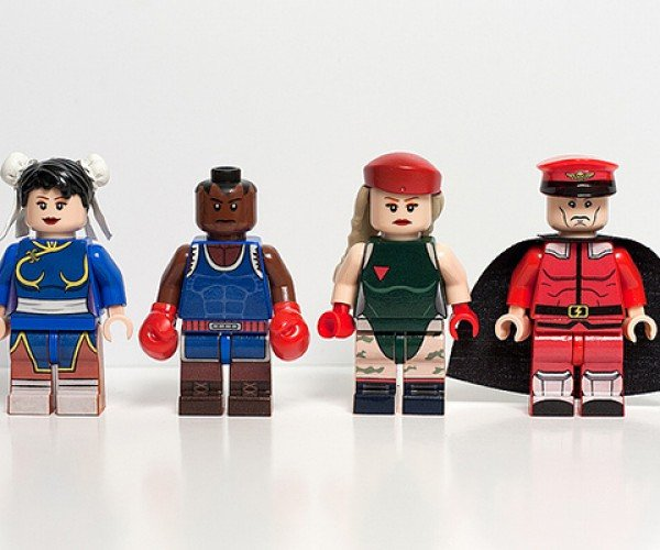 street fighter ii lego minifigure by julian fong 3