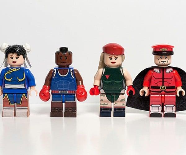 street fighter ii lego minifigure by julian fong 3