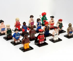 street fighter ii lego minifigure by julian fong 300x250
