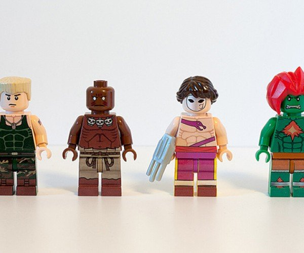 street fighter ii lego minifigure by julian fong 4