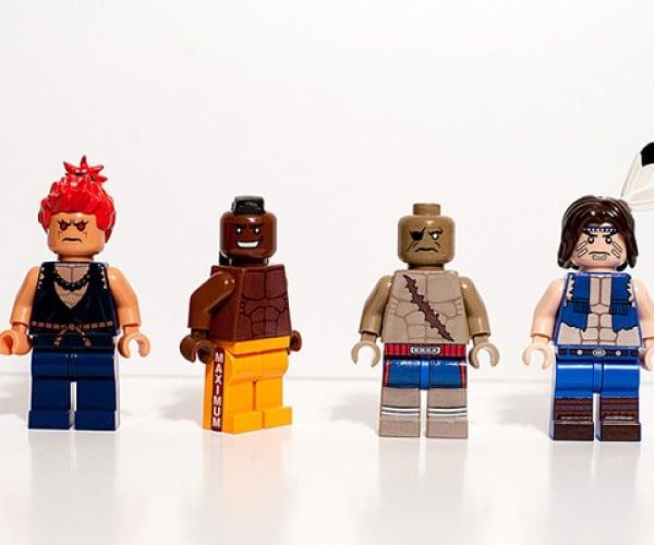 street fighter ii lego minifigure by julian fong 5