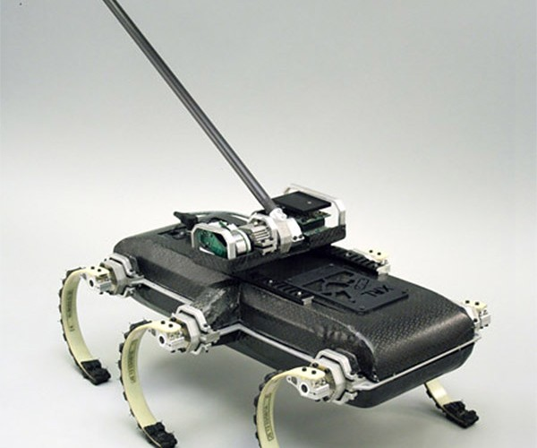X-rhex Robot Gets a Tail, Always Lands on Its Feet