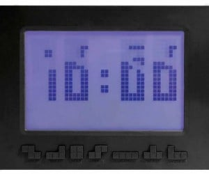 Official Tetris Alarm Clock: Time Pieces