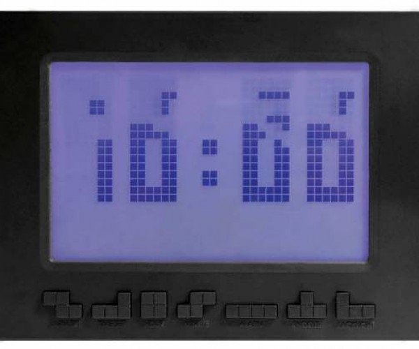 Official Tetris Alarm Clock: Time Pieces
