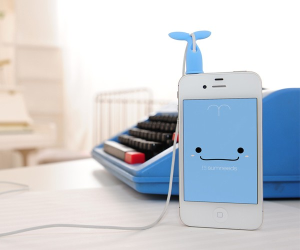 Sumneeds Line Tail Earphone Winder: Kute Korean Kord Kontrol
