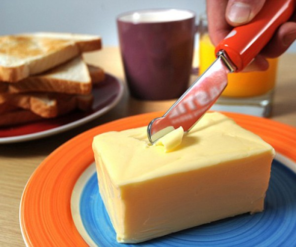Toastie Knife Will Cut Like a Hot Knife Through Butter Because That's What It Is
