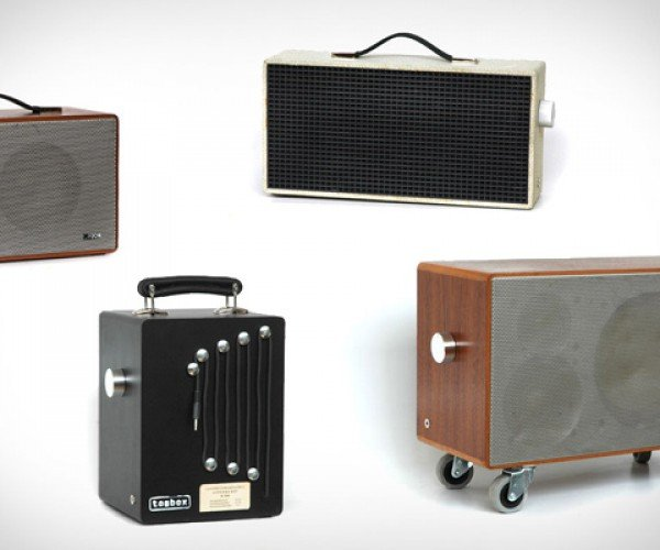 Tombox Speakers: The Upcycled Sound