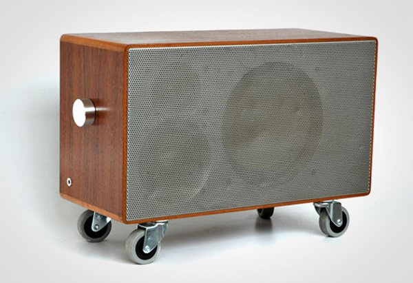 tombox speaker reused recycled upcycled audio plus