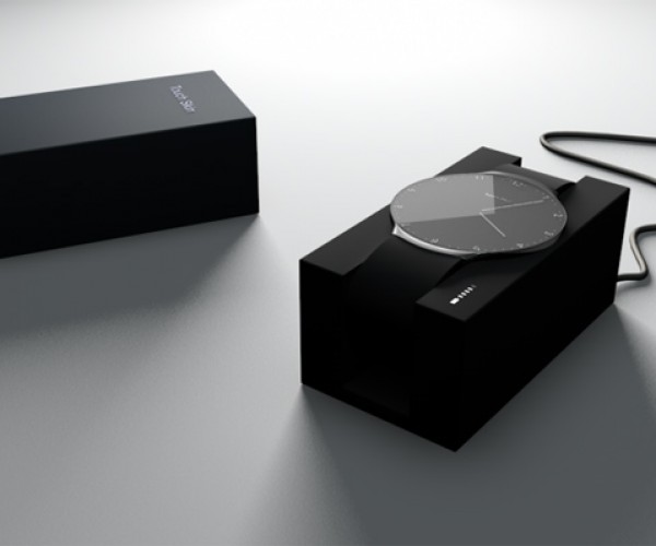 Touch Skin OLED Watch Concept Changes Faces on Demand