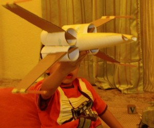Toilet Paper Tube X-Wing Fighter: Wipe After Every Battle