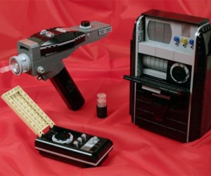 Classic Star Trek Gadgets Get the LEGO Treatment