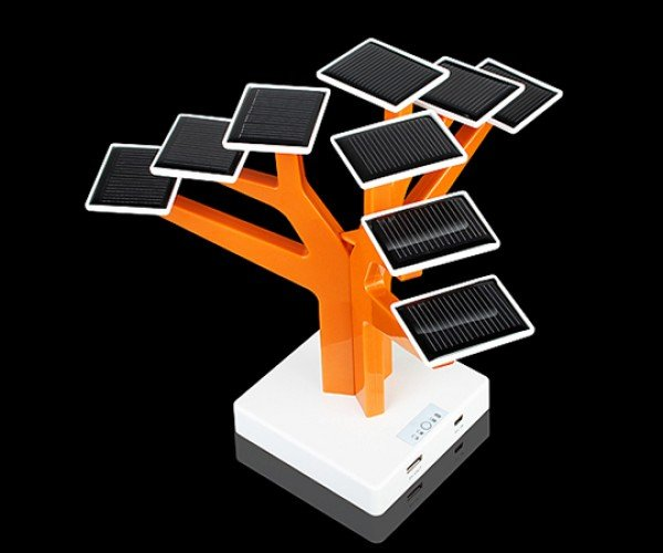 usb solar charger tree 3