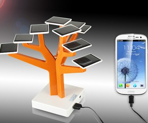 usb solar charger tree 300x250