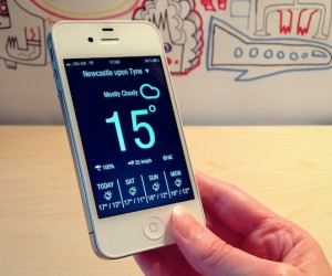 Weather Neue & Sun iPhone Apps: Minimal Designs, Easy Forecasts