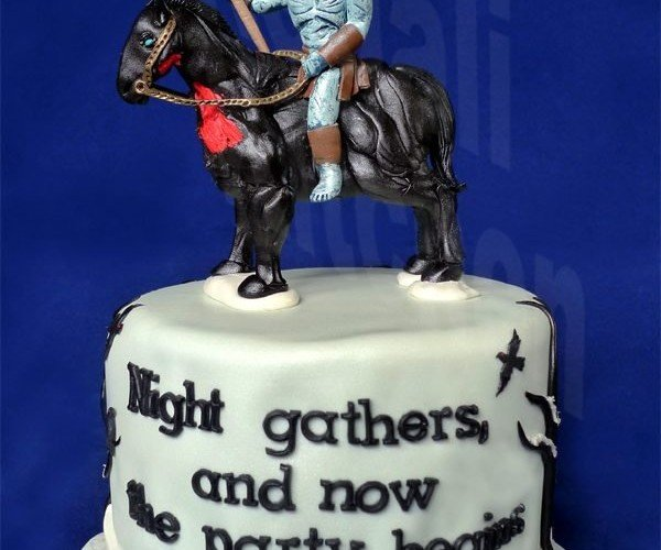 Game of Thrones White Walker Cake, Eat It with an Obsidian Fork