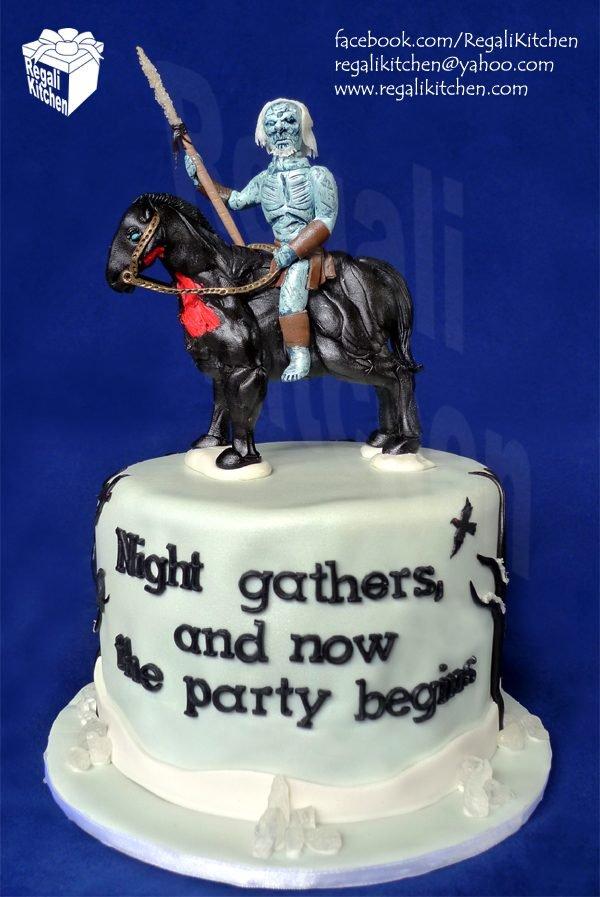 white walker cake