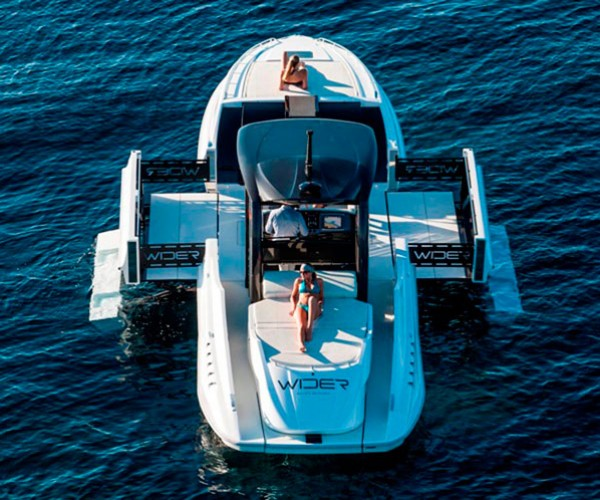 The Expandable Wider Yacht: Transformer of the Sea