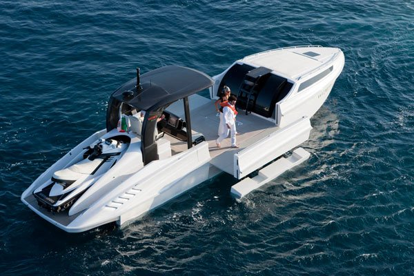 wider expandable yacht boat transformable opening