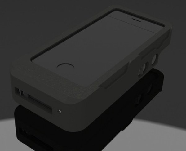 yellow jacket iphone case stun gun indiegogo