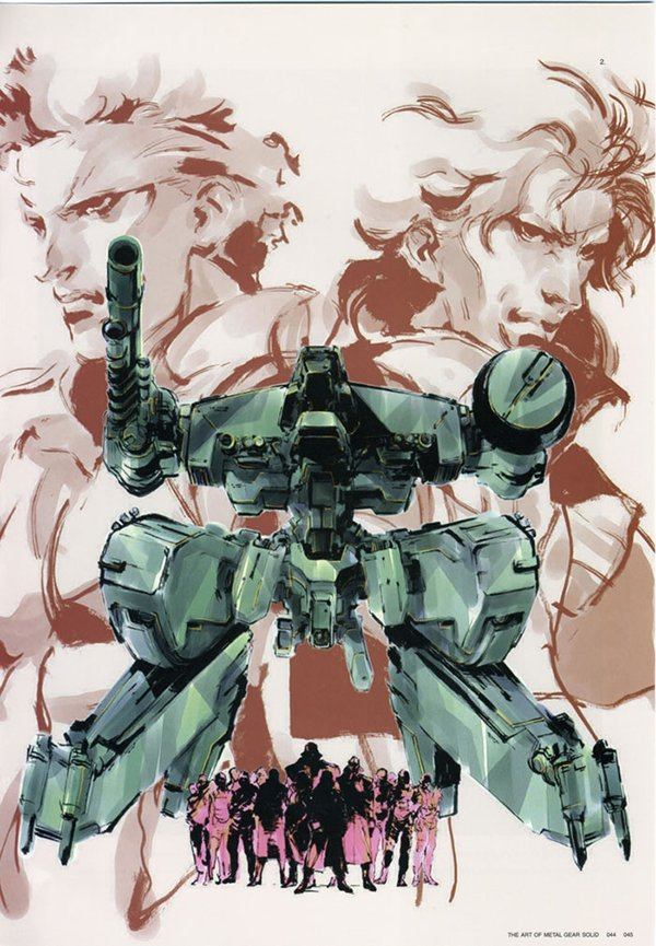 yoji shinkawa art of metal gear solid