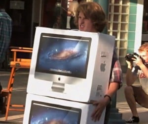 If Someone Drops an iMac 27 Times, It's a Prank