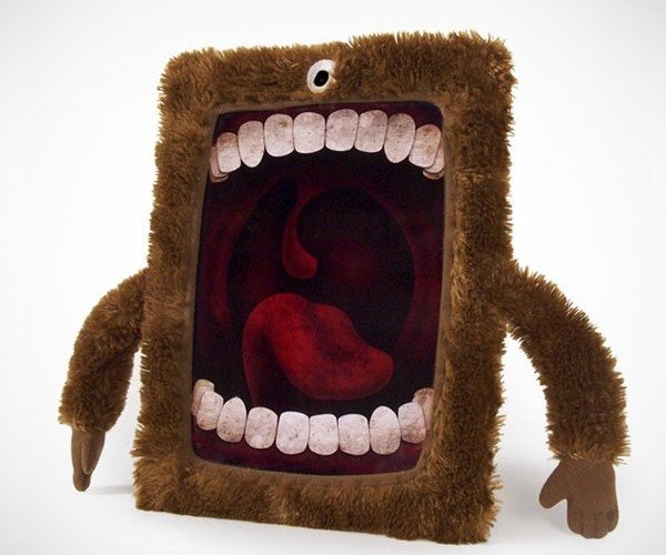 Cyclops Case Dresses Up Your iPad in (Almost) Self-Cleaning and Furry Garb