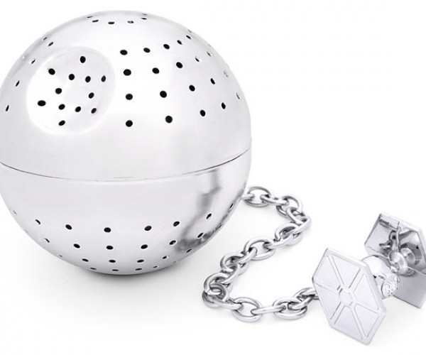 That's No Moon, It's a Death Star Tea Infuser