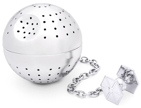 Death Star Tea Infuser is the ultimate power in your tea cup