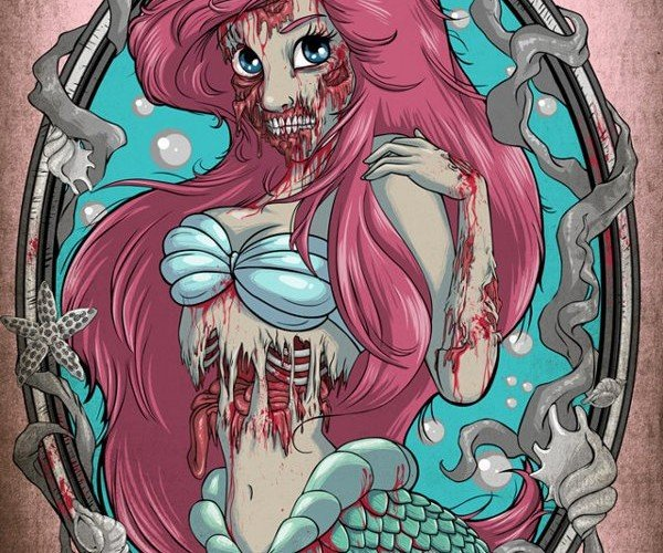 The Walking Dead Infects Disney Princesses