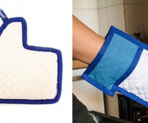 Like Your Food Every Time When You Use the Facebook Like Oven Mitt