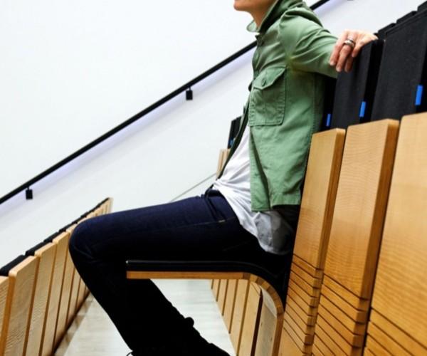 JumpSeat Chairs Allow Maximum Seating in Minimum Space